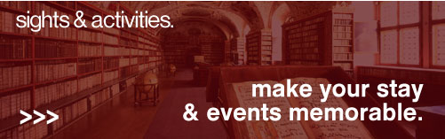 Sights & activities - make your stay and events memorable